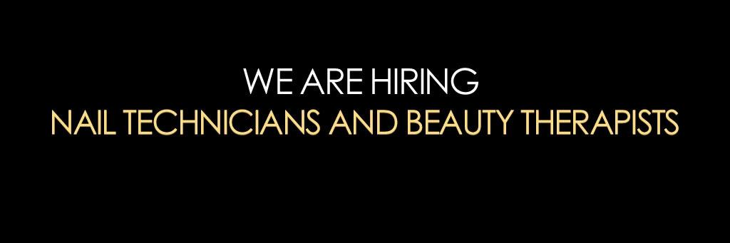 nail tech beauty therapist recruitment