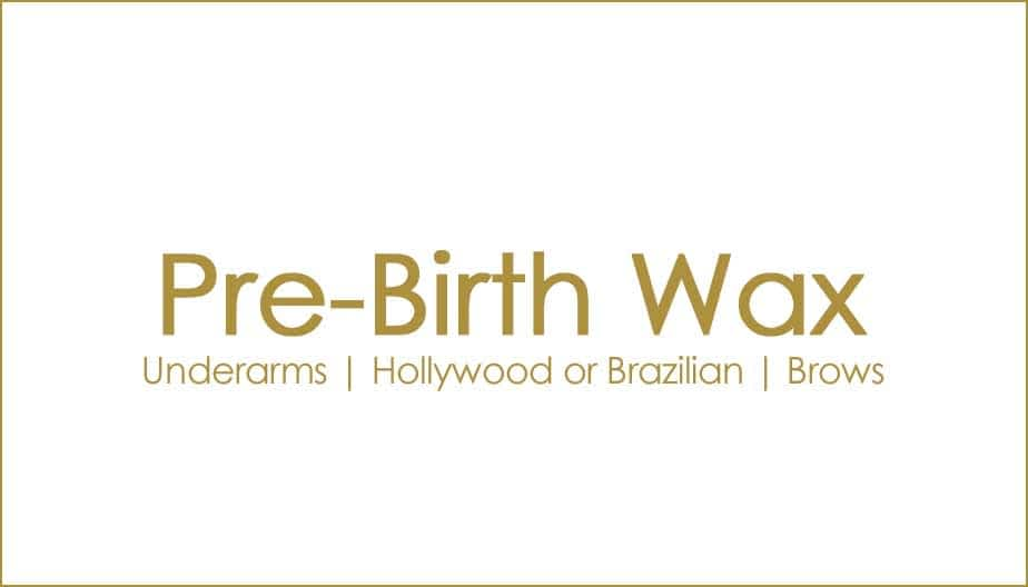 Packages and offers - Pre-birth-waxing