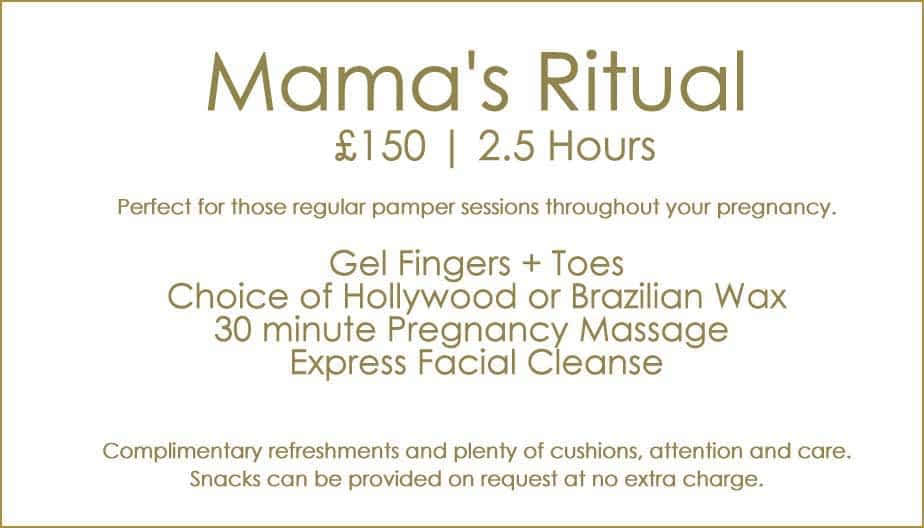 Pregnancy Package Mamas Ritual