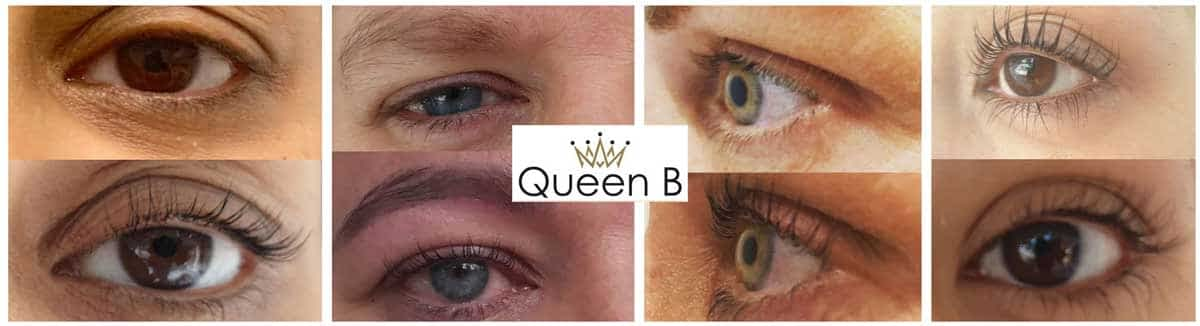 lashes lash lift queen b
