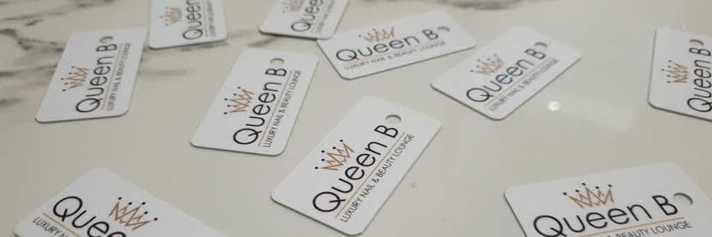 Queen B Treatcard banner