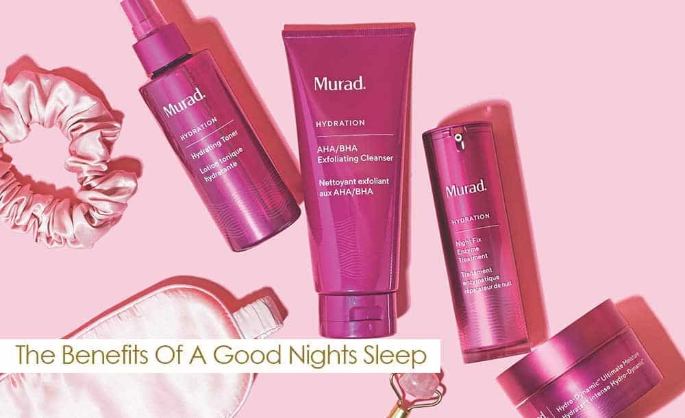 The Benefits of Beauty Sleep with Murad
