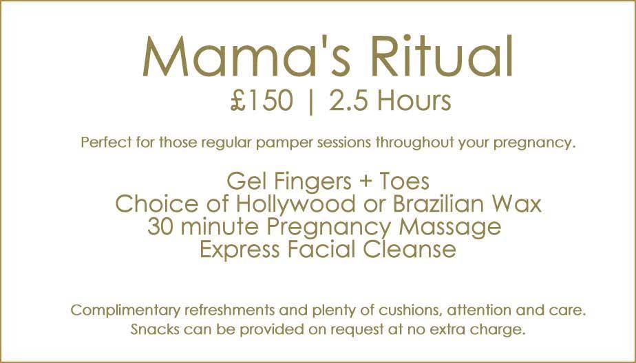 Pregnancy Package Mamas Ritual