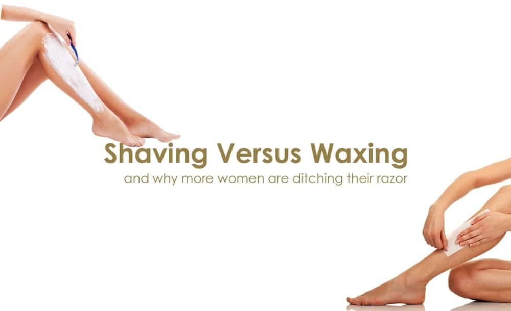 shaving versus waxing Queen B Luxury Nail and Beauty Lounge Croydon