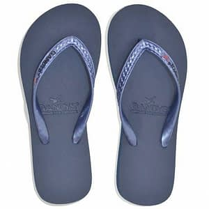 Gandys Lapis metallic flip flops