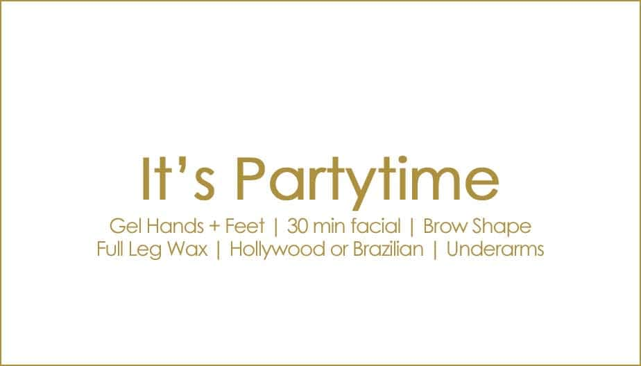 Packages and Offers | It's Partytime