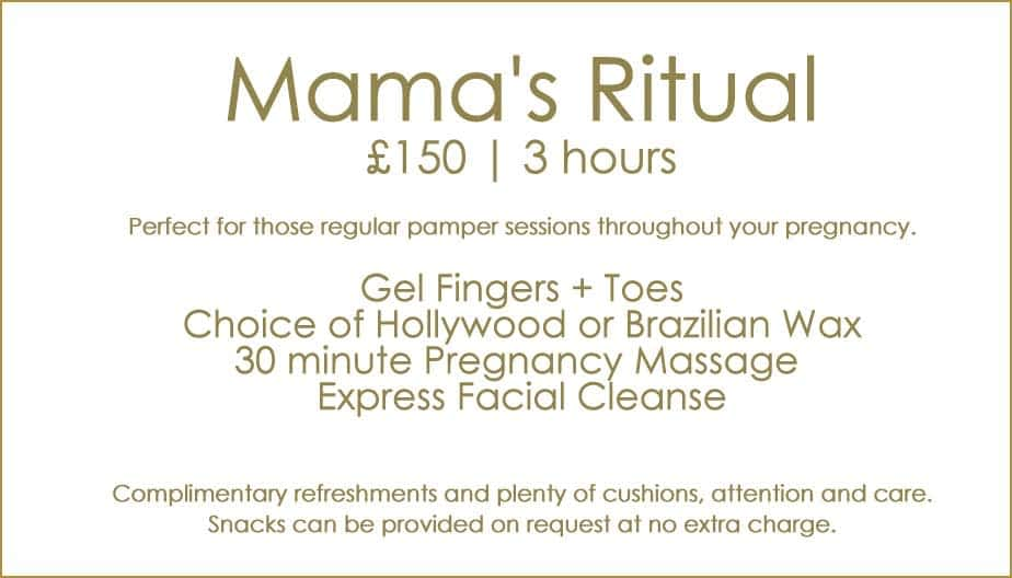 Packages Pregnancy Mamas Ritual